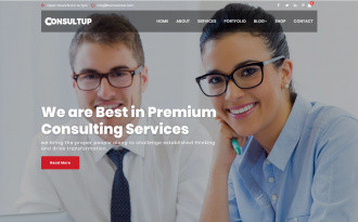 Busiup - Free Stunning WordPress Corporate Theme