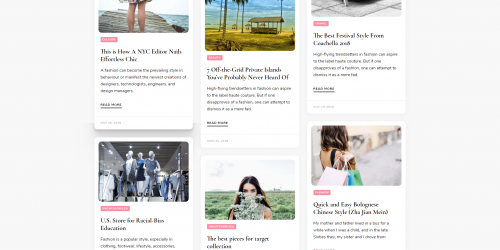 Blossom Pin - Free Feminine & Chic-friendly WordPress Blog Theme.